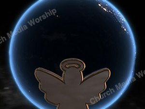 Angel over the earth Version 1 Christian Video Clip Use as a standalone or added as a clip to make a themed Christian video. Enhance the Worship experience.