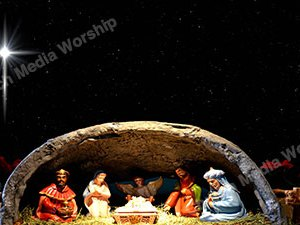 Away in a Manger Christian Worship Loop Video Perfectly timed for no glitches in 1080P HD. Room for lyrics