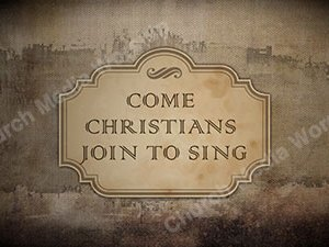 Come Christians Join To Sing Singalong Christian Video HD. With perfectly timed Lyrics. Easy to follow and sing Video and Audio to enhance the Worship experience.
