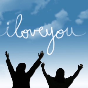 2 Woman in Worship I Love You Christian Animated Still A professional animated intro that's stops on a still image without continuous movements.