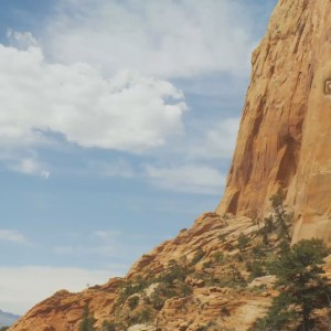 Cross on side of a mountain Christian Video Clip Use as a standalone or added as a clip to make a themed Christian video. Enhance the Worship experience.