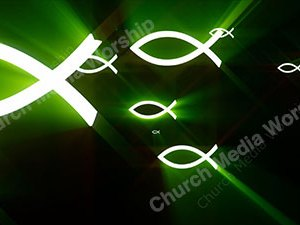 Fish Green Christian Worship Loop Video Perfectly timed for no glitches in 1080P HD. Room for lyrics