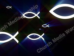 Fish Water Christian Worship Loop Video Perfectly timed for no glitches in 1080P HD. Room for lyrics
