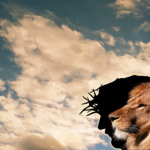Lion and Christ Sunset Clouds Christian Worship Loop Video Perfectly timed for no glitches in 1080P HD. Room for lyrics