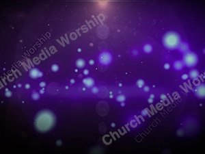 Purple Star Christian Worship Loop Video Perfectly timed for no glitches in 1080P HD. Room for lyrics