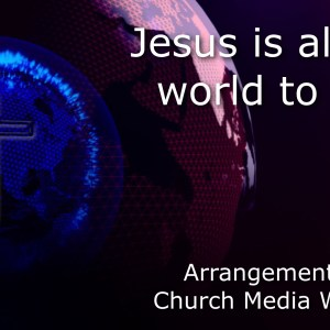 Jesus is All The World to Me Singalong Christian Video HD With perfectly timed Lyrics. Easy to follow and sing Video & Audio to enhance the Worship