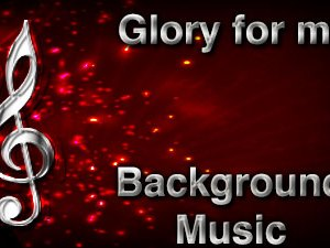 Glory for me Christian Background Music with multi verse tracks and versions. Enhance your worship experience Services or prayer meetings.