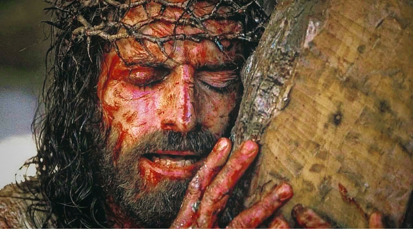 Image result for jesus crown of thorns Gibson