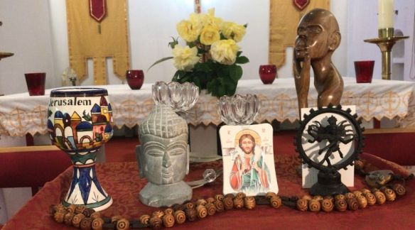 Idols on the Catholic altar