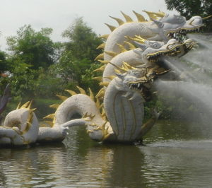 Dragons are seen by some as protectors or good luck, but should they be viewed that way?