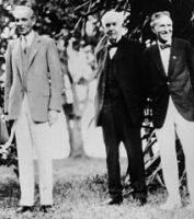Henry Ford, Thomas Alva Edison, and Harvey Samuel Firestone- the fathers of modernity11 February 1929, public domain