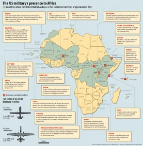 US military presence in Africa, June 2013From: Mail & Guardian: Africa's Best Read