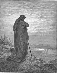Artist's conception of the prophet Amos