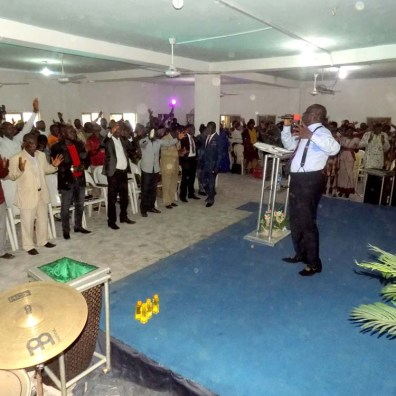 Raised Above Reproach - Church of the Anointing
