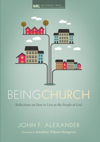 Book cover of Being Church.