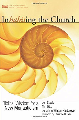 Book cover of Inhabiting the Church.