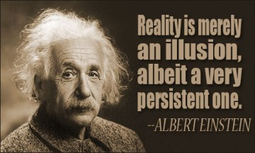 einstein on illusion