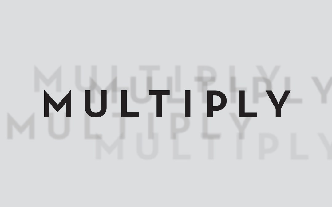 MULTIPLICATION – It Wont Happen Without…