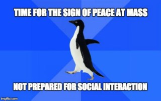 The Socially Awkward Person's Guide to the Sign of Peace