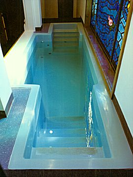 Heating The Water In Your Church Baptistry