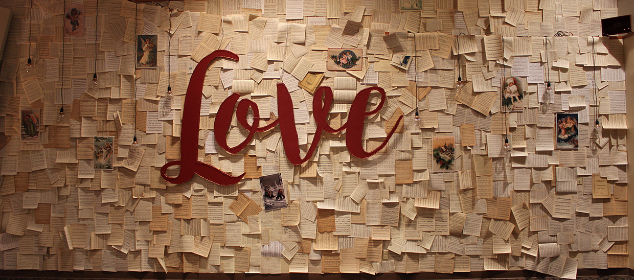 Paper Love Church Stage Design Ideas