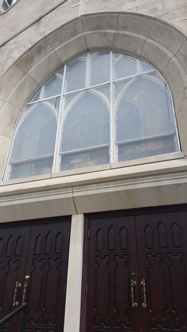 Leavenworth Methodist Church a BEFORE photo