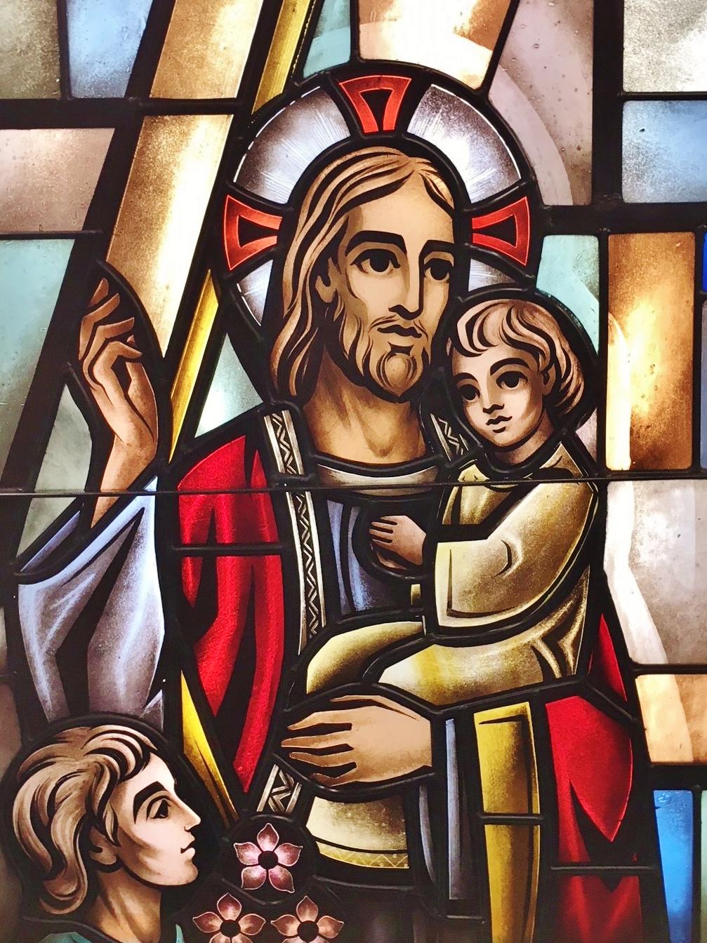 oklahoma city church stained glass restoration