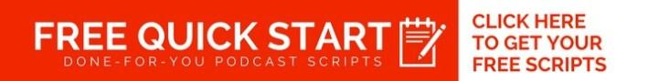 free quick start church podcasting scripts