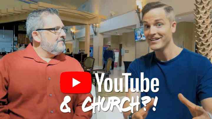 youtube for church