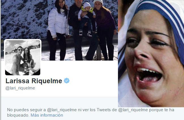 Santa Moralista Riquelme se rasgó las vestiduras en TeleShow y bloqueó al churero.com en twitter avergonzada de su pasado?
