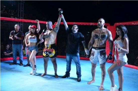 La Tempestad Lefebvre derrotó al argentino La Roca Braganza en el certamenExplossion MMA Challenger.