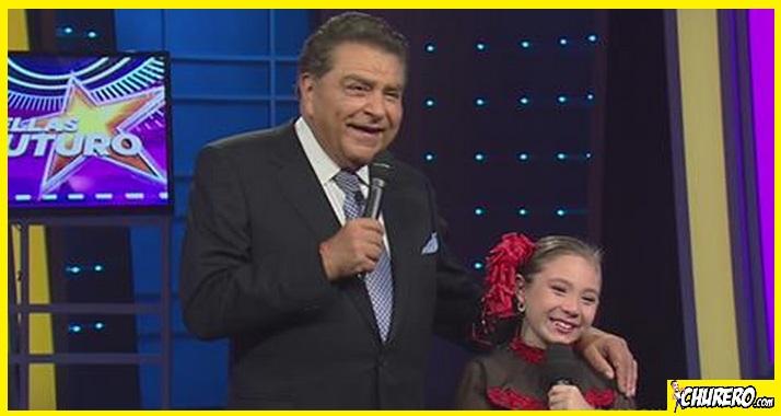 """Vídeo-La talentosa paraguaya Jazmín Lujan cautivó en el programa de Don Francisco """"Sábado Gigante"""" de Univisión."""