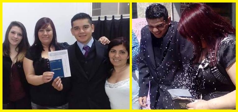 Pareja de Argentina y Paraguay se conocen en Churero.com y terminan casándose.