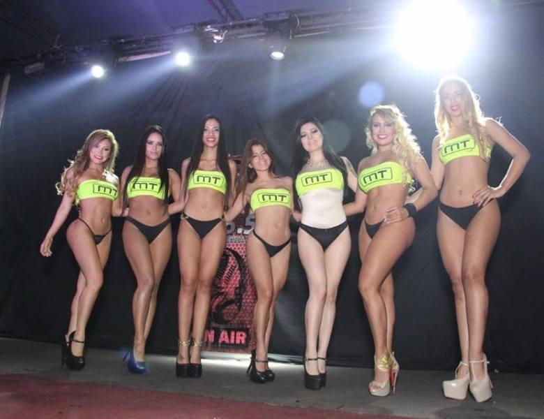Miss Tunning Paraguay realizó su lanzamiento oficial 2016 mostrando mucha carne.