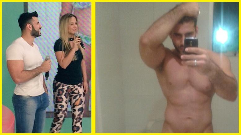 Entrenador de CUESTIÓN DE PESO desnudo en las redes sociales.