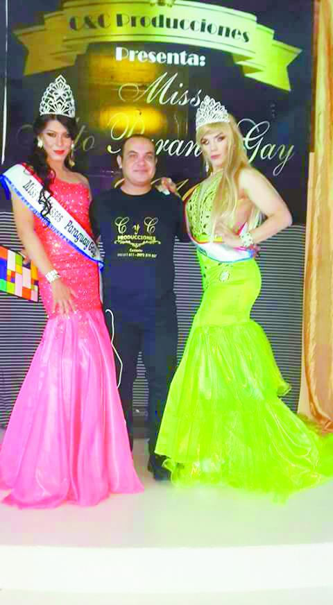 Se llega el certamen de belleza Miss Gay Alto Paraná.