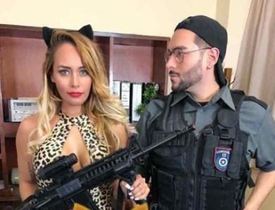 Nabila Ovelar la invitada sexy de Comisaría 13