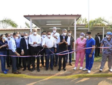 Hugo Javier inauguró la nueva unidad de salud familiar del departamento Central