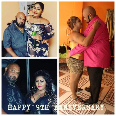 Happy 9th Anniversary To Reshma Ramlal & Her Husband