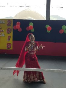 National Carnival Schools Intellectual Chutney Soca Monarch Competition 2019 Hand Gesture