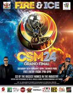 Order of Appearance in the Chutney Soca Monarch 2019 Grand Final Competition