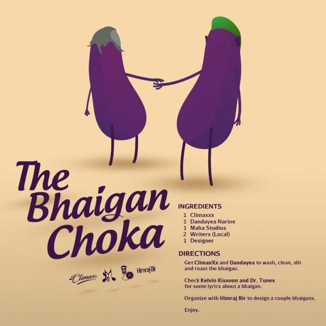 The Bhaigan Choka By Climaxxx Ft Danadaye Narine (2019 Chutney Soca)