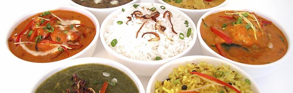 Chutney's Indian dishes. Image via ChutneysOxford.co.uk