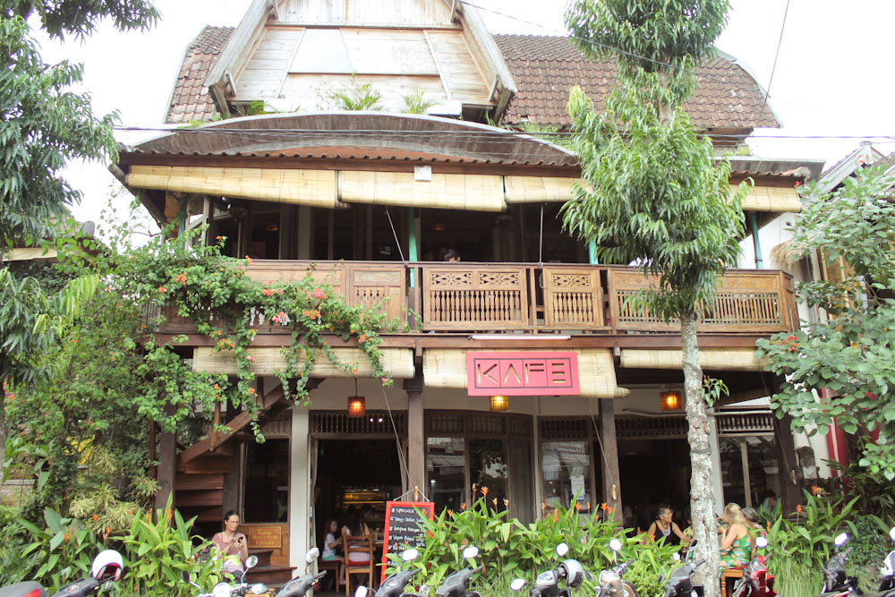 KAFE ☆ Cafe in the Heart of Ubud, Bali