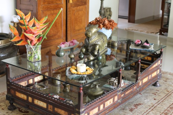 Home with Indian Antiques-36