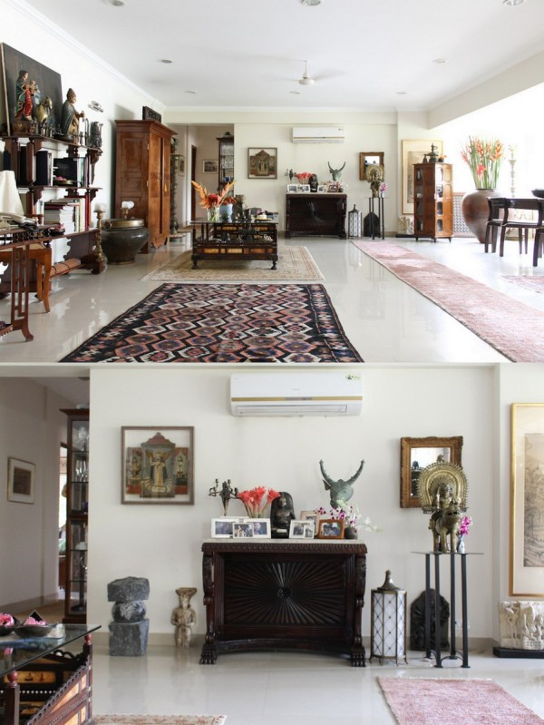 Home with Indian Antiques
