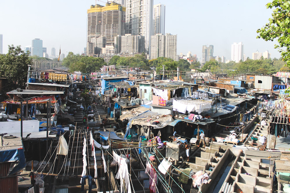 Dhobi Ghat Mumbai Open Air Clothes Washing Colony