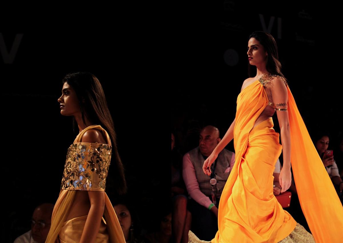 Nikhil Thampi Payal Singhal Lakme Fashion Week10