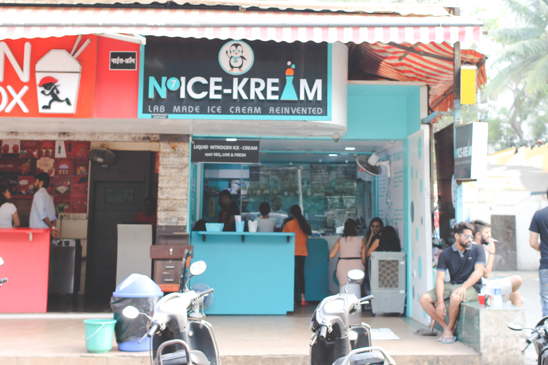 Nice Cream Nitrogen Ice Cream Mumbai