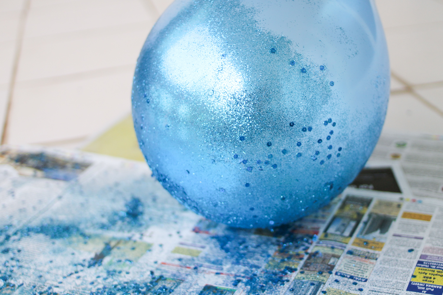 glitter baloon DIY for Party Decor-5
